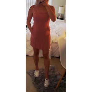 Pink mini dress - size small